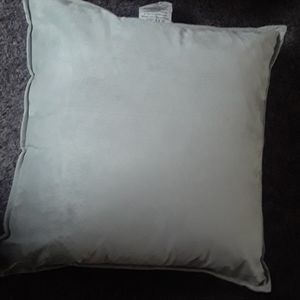 Nwt faux suede overside toss pillow